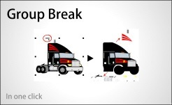 group-break
