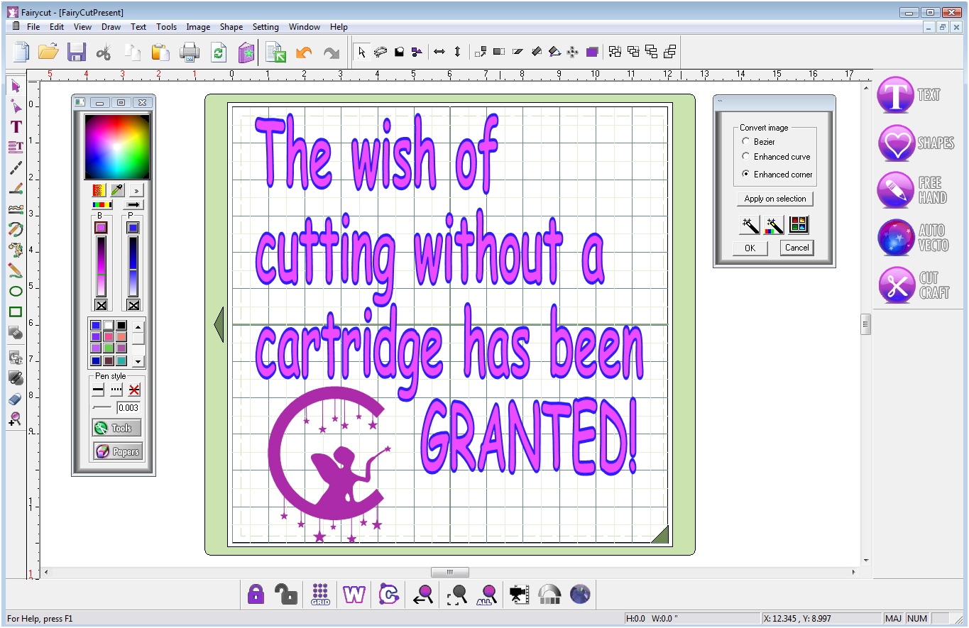 Cake Design Programs Download Free : New Powerful Software For Cricut Personal, Expression ...
