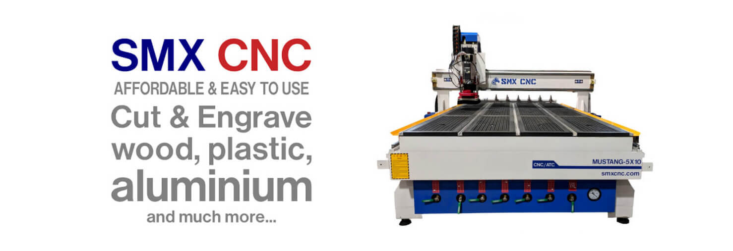 SMX CNC - Create & cut your own design