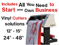 Vinyl cutters packages