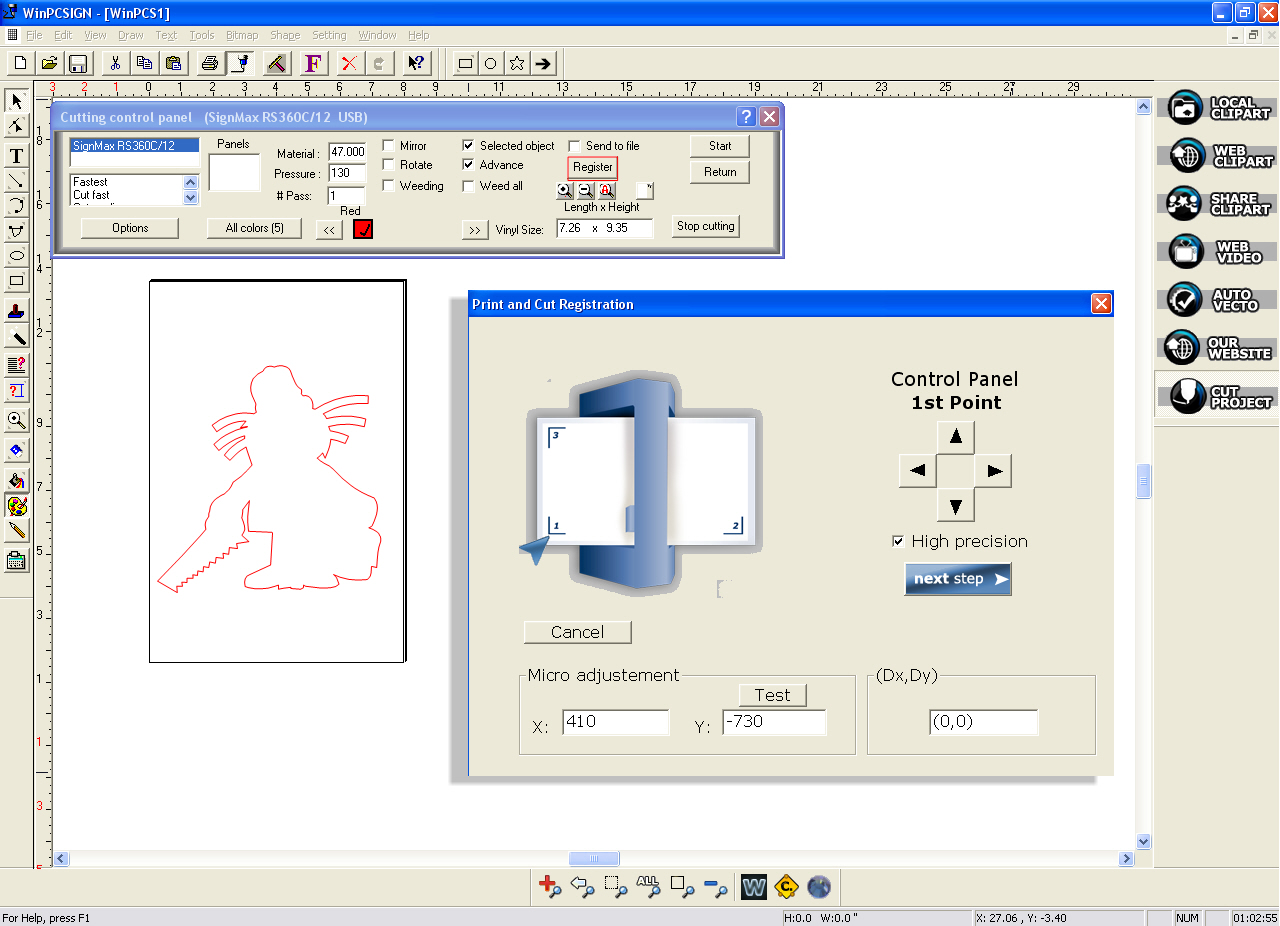 Unlimited Winpcsign Basic 2012 Software For Vinyl Cutter