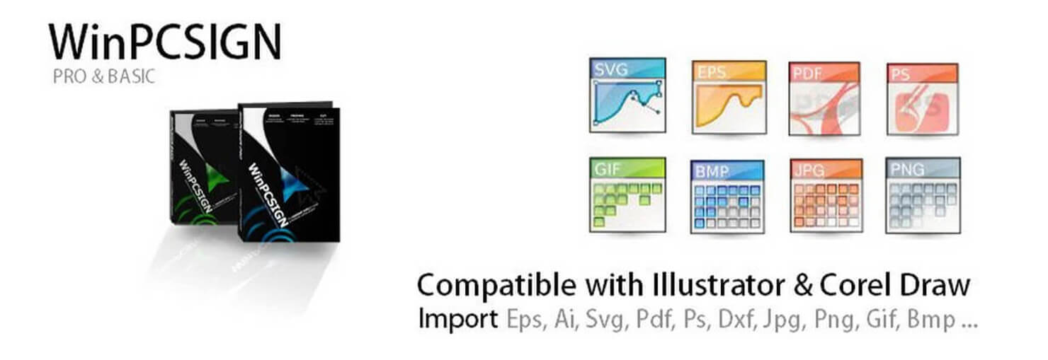 Compatible with Adobe Illustrator & Corel Draw