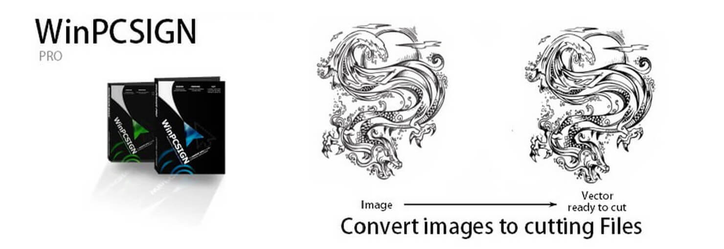 Convert images to cutting files