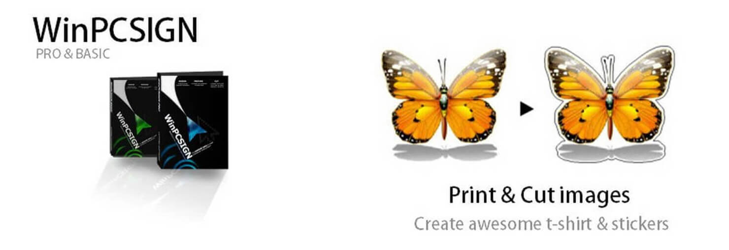 Print & cut images in color