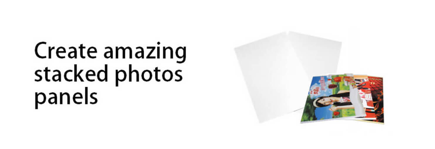Sublimation: Create amazing stacked photos panels