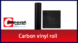 Comp-u-cut - Carbon vinyl - 1 Roll (60