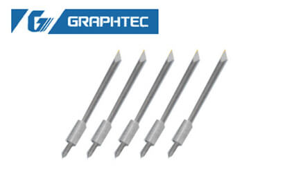 5 high quality blades (45 degrees) for Graphtec vinyl cutter