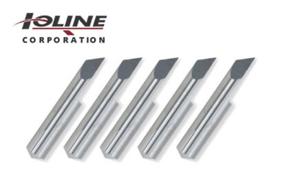 5 high quality blades (45 degrees) for Ioline vinyl cutter