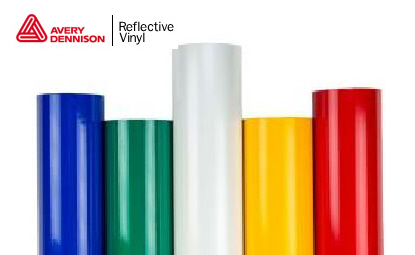Avery Dennison T-1500-A Reflective Vinyl - 24&#39&#39 X 50 Yards